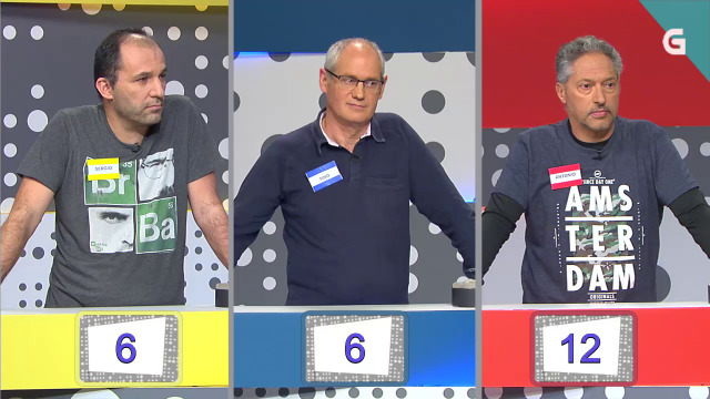 Antonio de Lugo, Tino de Riveira e Sergio de Cangas do Morrazo - 17/09/2019 16:00