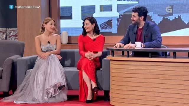 Con Beatriz Serén e Carmen Méndez - 10/04/2017 23:30