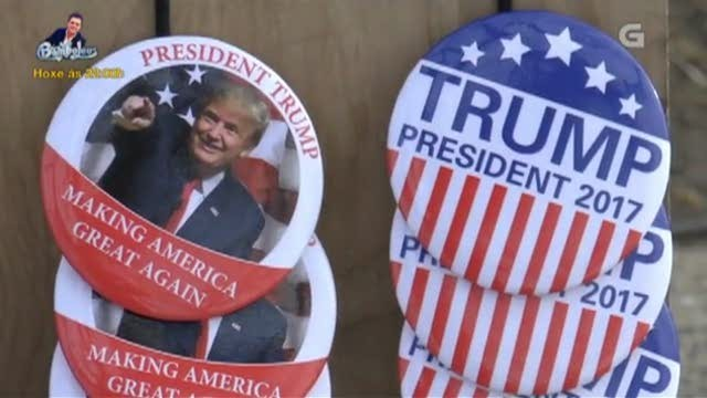 Donald Trump: o presidente polémico - 11/02/2017 15:15