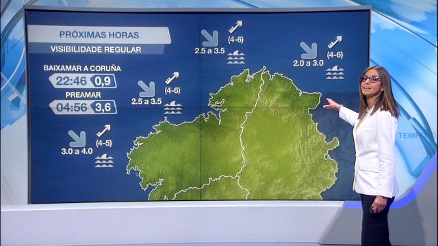 Aumenta o vento do suroeste no litoral norte - 10/05/2021 20:00