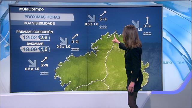 Cambios na dirección do vento, que zoará frouxo do sur - 23/03/2021 08:00