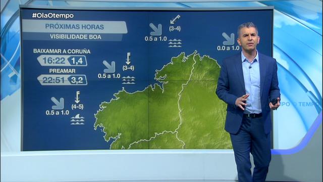 Comeza a semana con vento de compoñente norte - 03/05/2021 07:00