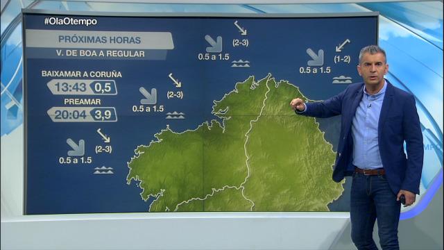 Comeza a semana na costa galega con tendencia cara os ventos do norte - 21/09/2020 07:00