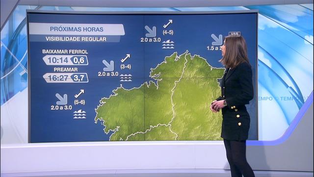 Desta vez a fronte non deixa adversos no litoral de Galicia - 10/02/2021 21:38