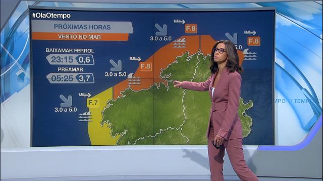 Empeora a situación no litoral norte e noroeste de Galicia, con vento no mar moi forte - 01/10/2020 21:30