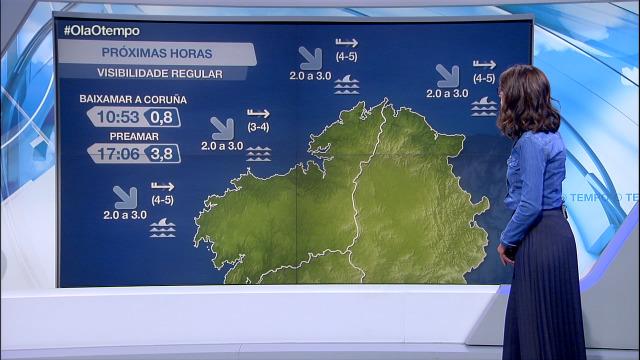 Forte marusía na costa da Coruña e de Lugo e mar de fondo aumentando - 30/09/2020 21:30