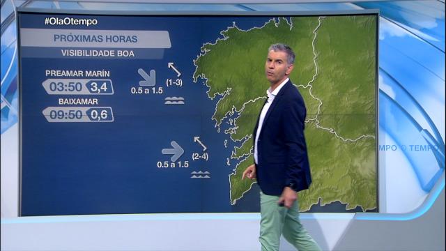 Madrugada con vento do sueste en toda a costa galega - 15/09/2020 21:30