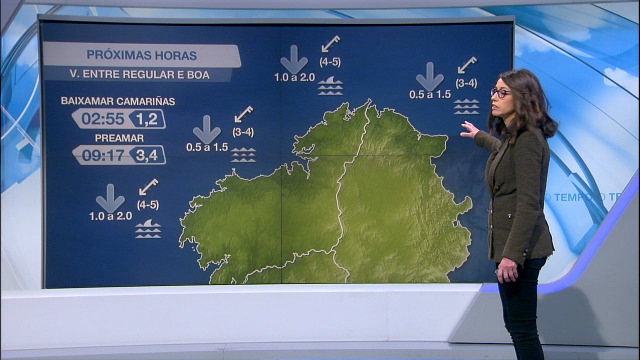 Mellora a visibilidade na costa de Galicia coa entrada do anticiclón - 05/01/2021 21:30