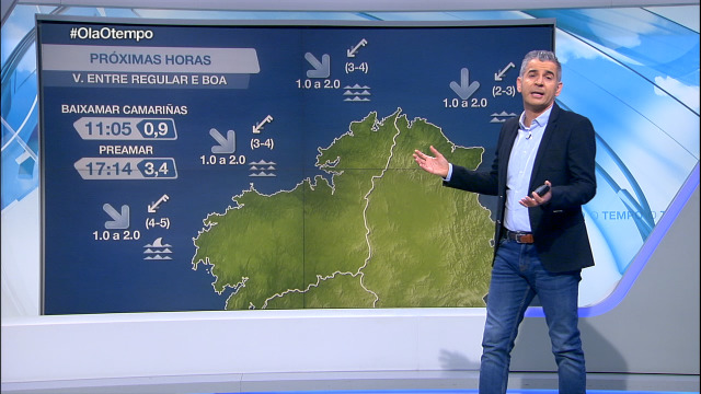 Mercores con vento do nordés no litoral galego - 02/12/2020 07:00