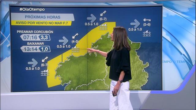 Nordés forte entre Estaca de Bares e Fisterra, con aviso amarelo - 16/04/2021 08:00