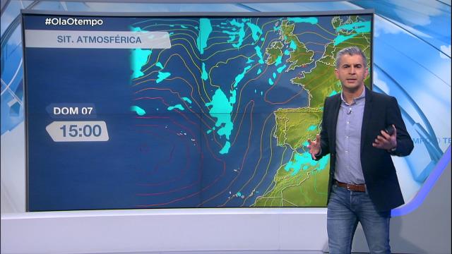 O anticiclón arrastra o nordés á costa galega - 04/03/2021 20:00
