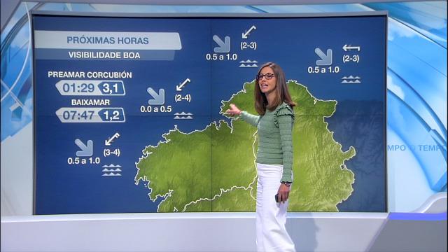 O anticiclón deixa unha situación de estabilidade en todo o litoral - 04/06/2021 20:00