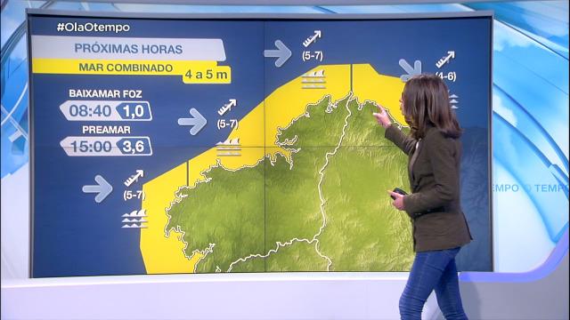 O litoral segue en aviso amarelo por mar combinado - 08/02/2021 21:12