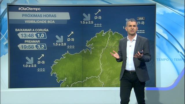 O martes complícase a situación na costa galega - 18/01/2021 07:00