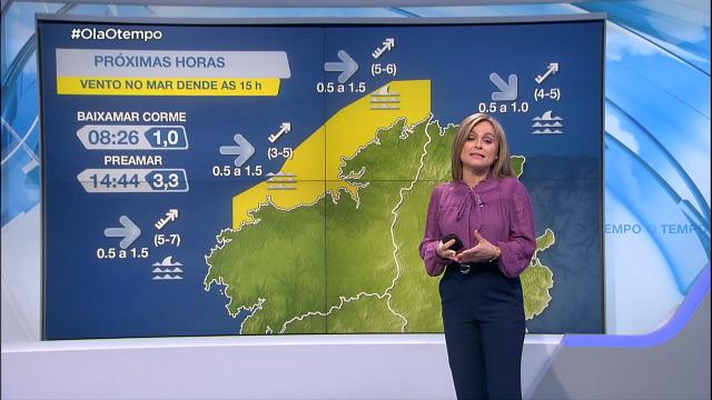 O suroeste deixará aviso amarelo na costa coruñesa - 10/03/2021 08:00