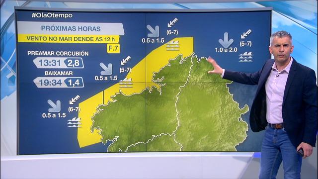 O vento do nordés volve deixar avisos na costa - 06/04/2021 08:00