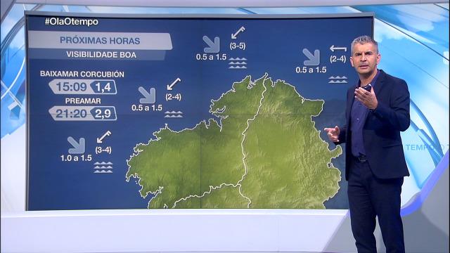 O vento do nordés xa non sopra tanto na costa galega - 09/09/2020 08:00