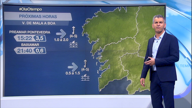 O vento do sur sopra máis forte na Costa da Morte e nas Rías Baixas - 15/09/2020 08:00