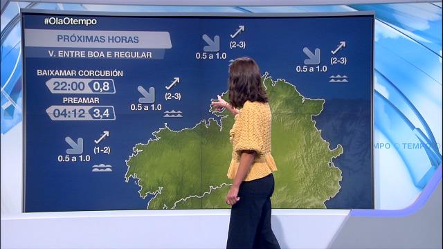 O vento vira cara ao suroeste no litoral - 29/09/2020 21:30