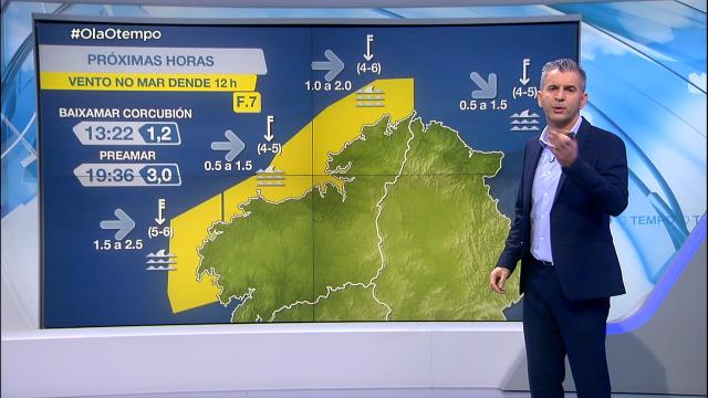 Seguen os avisos por ventos do nordés - 18/03/2021 20:30
