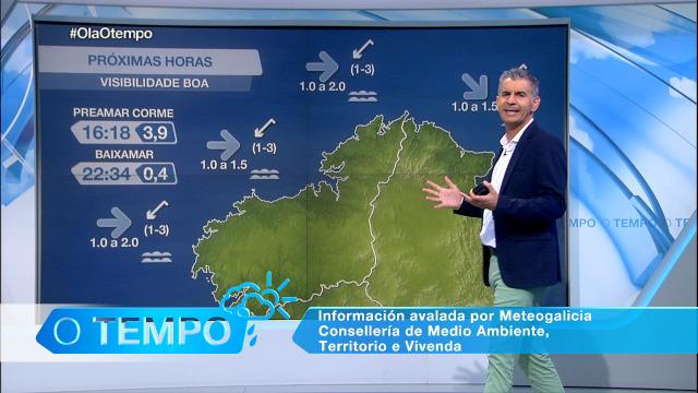 Situación tranquila, pero cambiante na costa galega - 16/09/2020 08:00