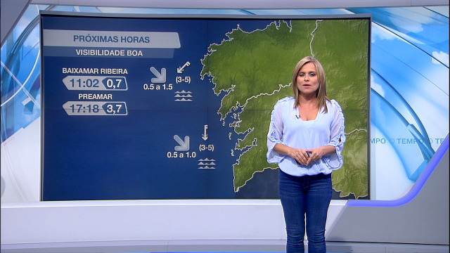 Vento do nordés máis forte pola tarde en todo o litoral - 02/09/2020 08:00