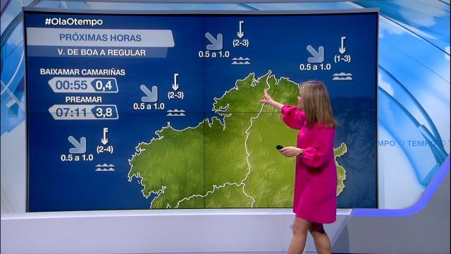 Vento do norte frouxo e boa visibilidade - 30/04/2021 20:00