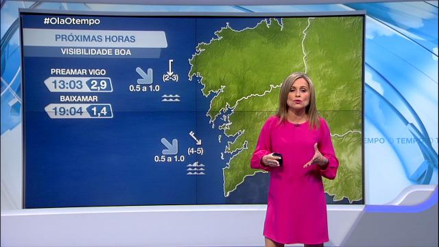 Vento do norte máis intenso ao sur de Fisterra - 04/06/2021 08:00
