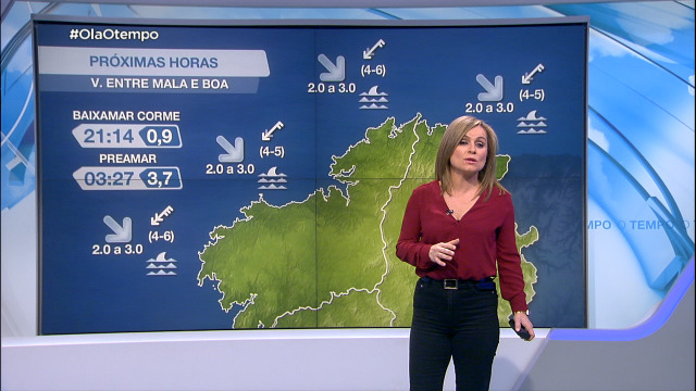 Vento do norte na costa galega - 25/02/2021 20:00