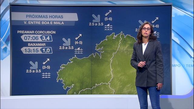Vento do suroeste moderado no litoral e peor visibilidade na beira atlántica - 06/10/2020 07:00