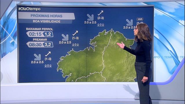 Vento frouxo do sudoeste na costa galega - 07/10/2020 21:30