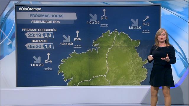 Vento frouxo do sur na costa galega - 09/11/2020 21:30