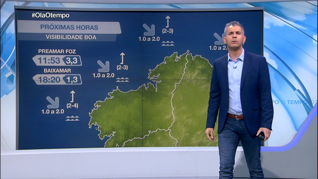 Vento frouxo en toda a costa galega - 10/11/2020 08:00