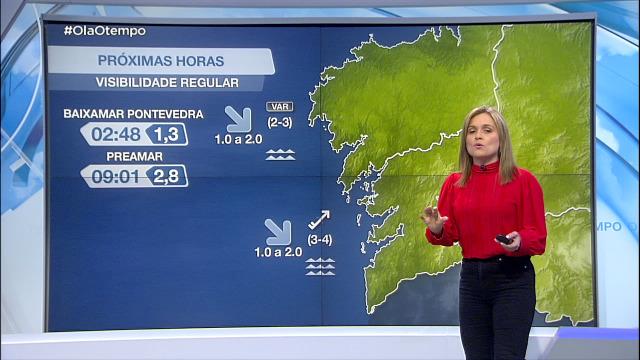 Vento máis forte nas Rías Baixas - 17/05/2021 21:30