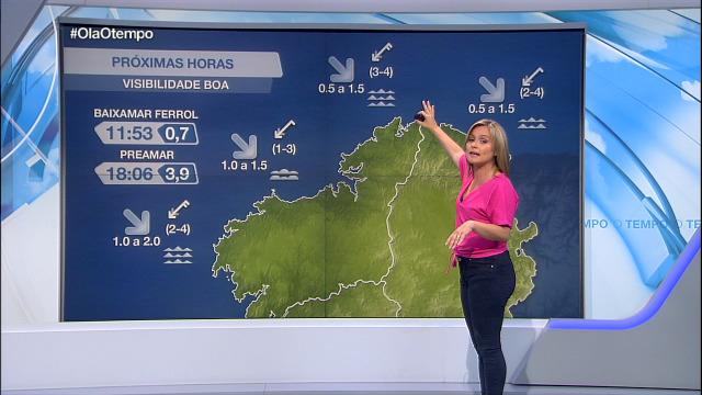 Vento máis intenso pola tarde na costa coruñesa - 03/09/2020 08:00