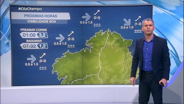 Volve o vento do sur á costa galega - 09/03/2021 20:00