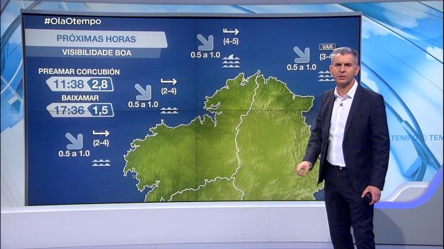 Volve soprar na costa galega o vento do oeste - 20/05/2021 08:00