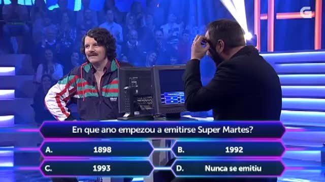 50x4: quen non quere ser millonario - 18/03/2015 22:15