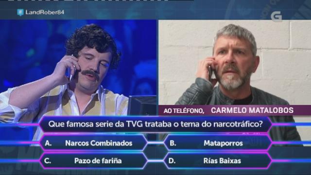 A visita máis agardada: Pablo Escobar Gaviria participa no programa 50x15 - 07/04/2017 00:15