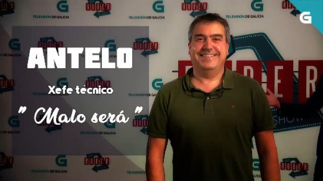 """Antelo, xefe técnico. """"Malo será"""" - 27/06/2019 23:35"""