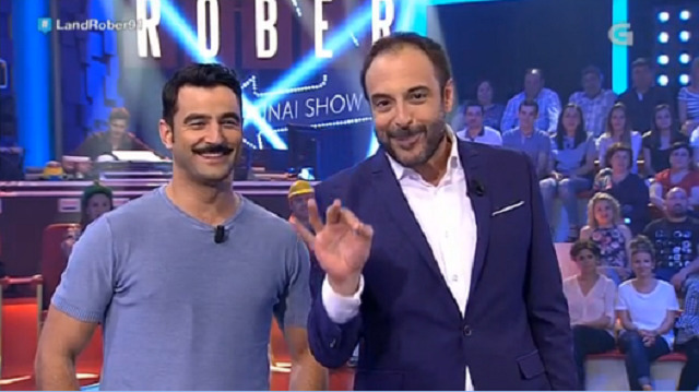 Co actor Antonio Velázquez e o humorista David Perdomo - 01/06/2017 22:15