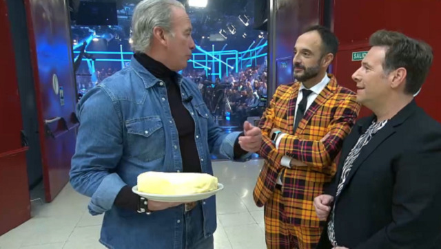 Con Bertín Osborne e Carlos Latre - 17/10/2019 22:15
