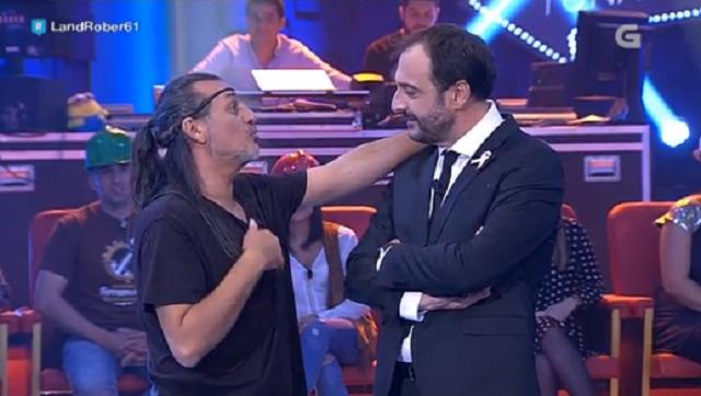 Con Dioni de Camela e Manuel Manquiña - 19/10/2016 22:00
