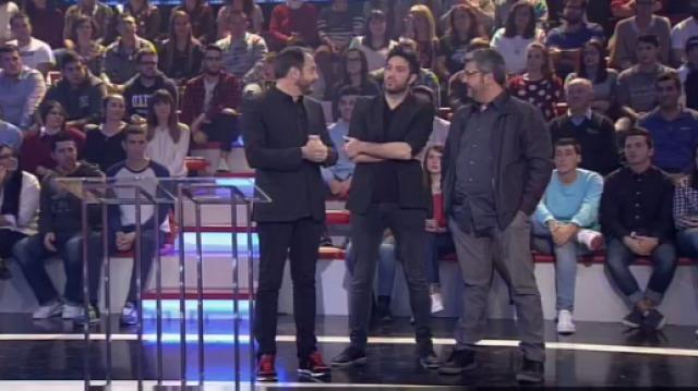 Con Florentino Fernández, Dani Martínez e Rubén Riós - 25/11/2015 22:00