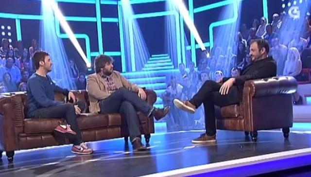 Con Julián López e Raúl Cimas, dous chanantes - 08/04/2015 22:00