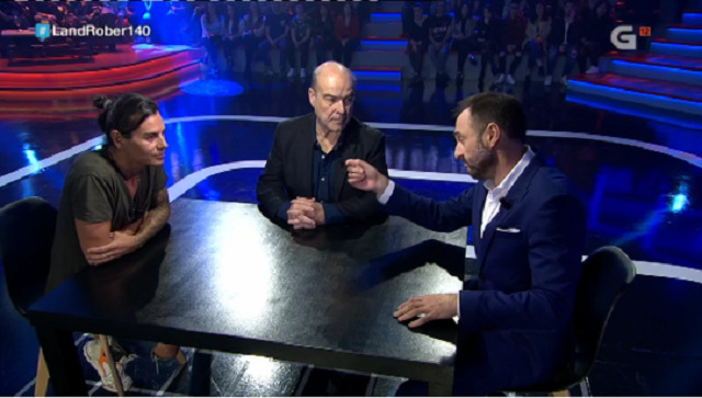 Con Julio José Iglesias e Antonio Resines - 06/12/2018 22:15
