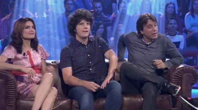 Con Ledicia Sola, Touriñán e Javier Veiga - 14/10/2015 22:00