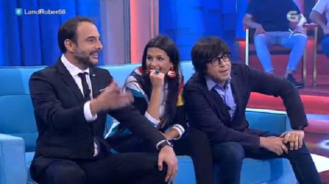 Con Luís Piedrahita, Sabela Arán e Tania Veiras - 11/05/2017 22:15