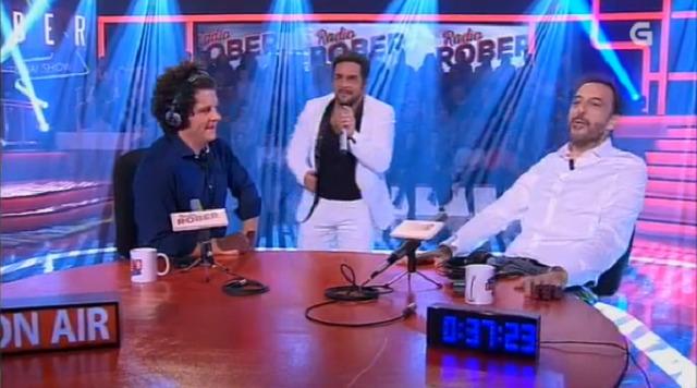 """Con Miguel Ángel Blanco, David Perdomo como """"Carlos Roma"""" e as presentadoras de """"Vivan as tardes!"""" - 09/11/2017 22:00"""