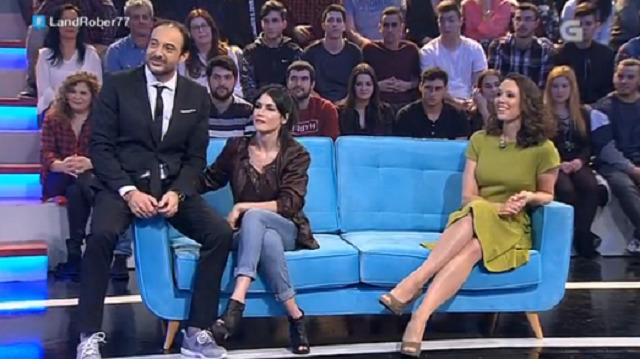 Con Nerea Barros e Iria Sobrado - 16/02/2017 22:00